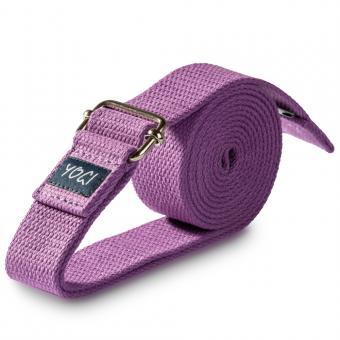 Yogagurt Yogi 3,8 x 250 cm Purple