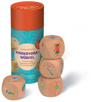 Kinderyoga - Würfel aus Holz
