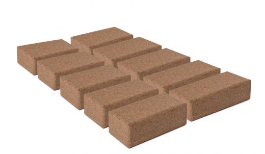 Korkklotz 23 x 12 x 7,5 cm 10er BOX
