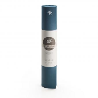 Yogamatte Kurma Comfort Grip Grün-Blau (Green)   66 x 185 cm