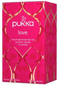 Love Bio Tee - Pukka 20 Beutel