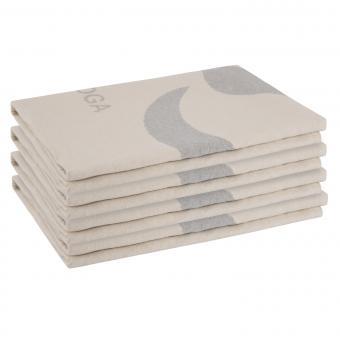 Yogadecke Fussenegger - mit Einwebung 4er BOX