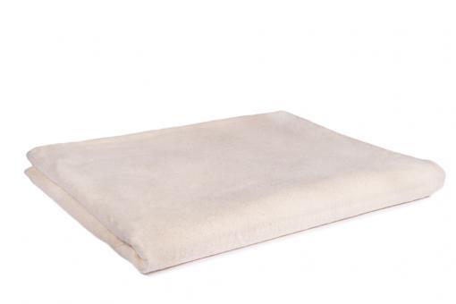 Yogadecke Weiß (Natur) Baumwolle