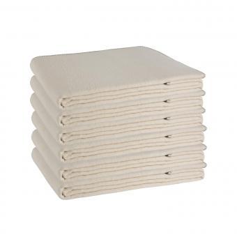 Yogadecke natur Baumwolle 6er Box
